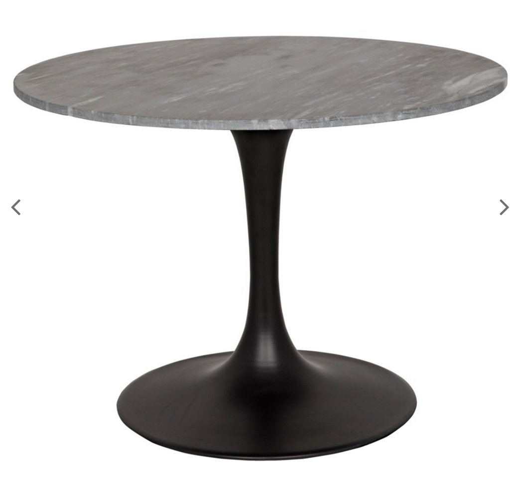 "Laredo 40"" Bistro Table with Black Stone Top"