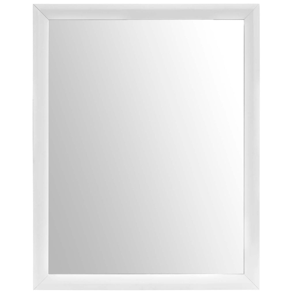 Tracy Mirror in White