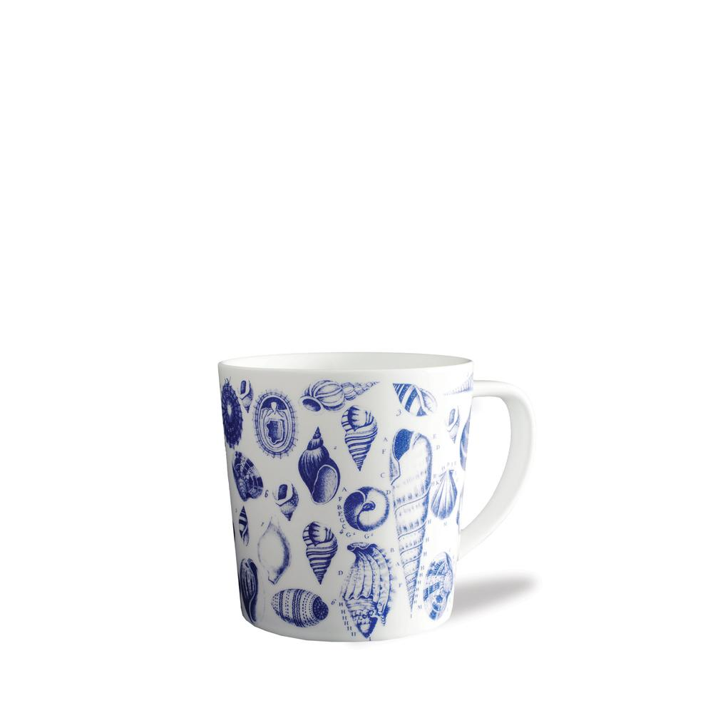 MULTI SHELLS BLUE 14 OZ. MUG
