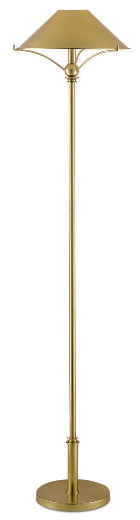 Maarla Brass Floor Lamp