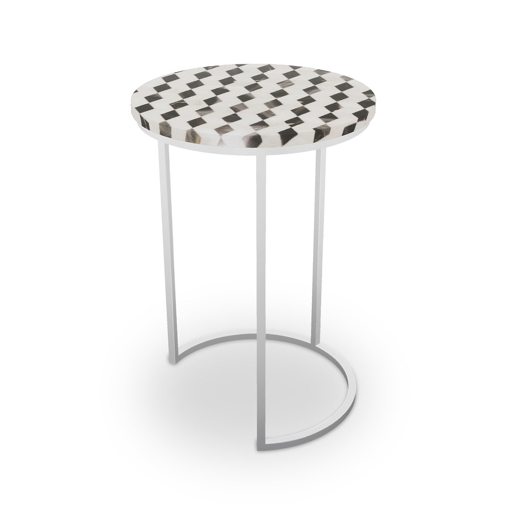 Ludlow Table, Half Moon Nickel