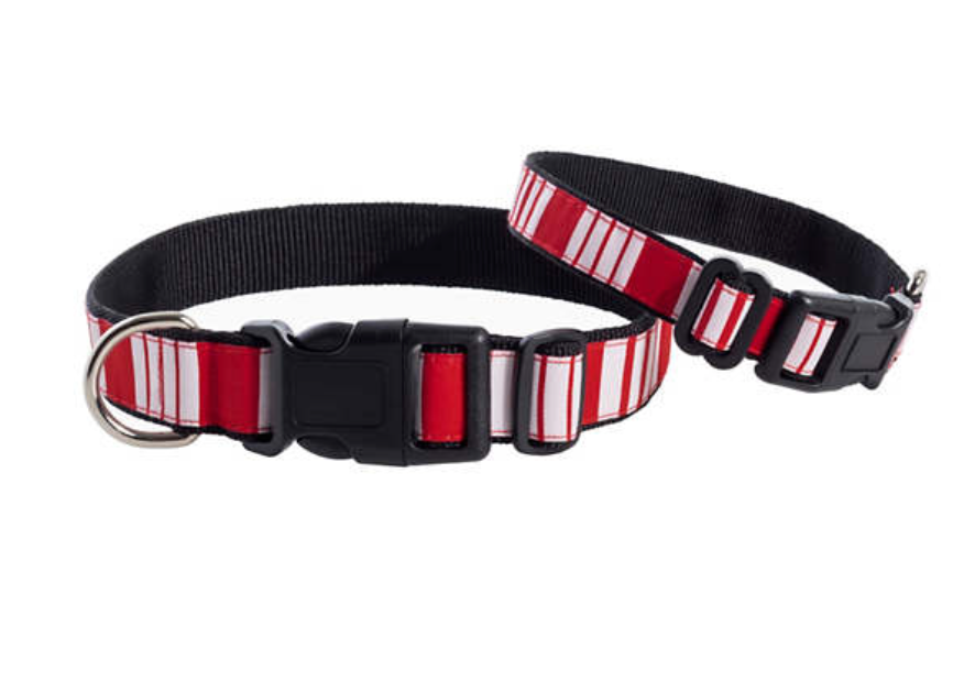 Red Stripe Collar
