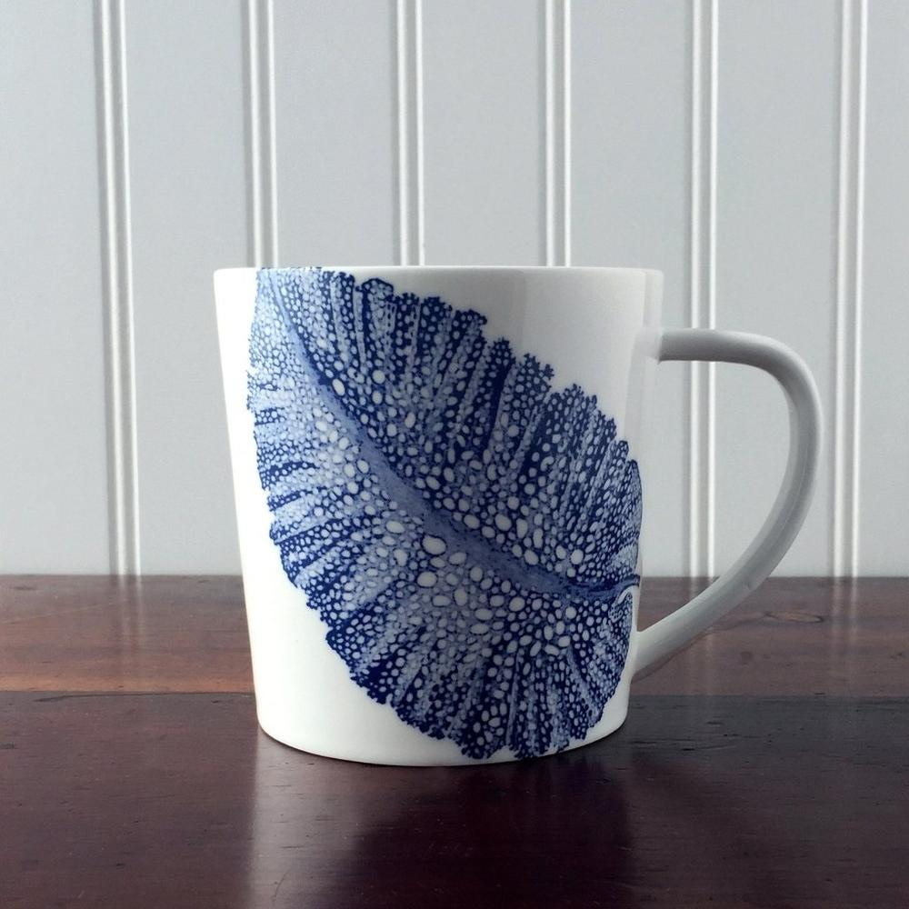 SEA FAN BLUE 14 OZ. MUG