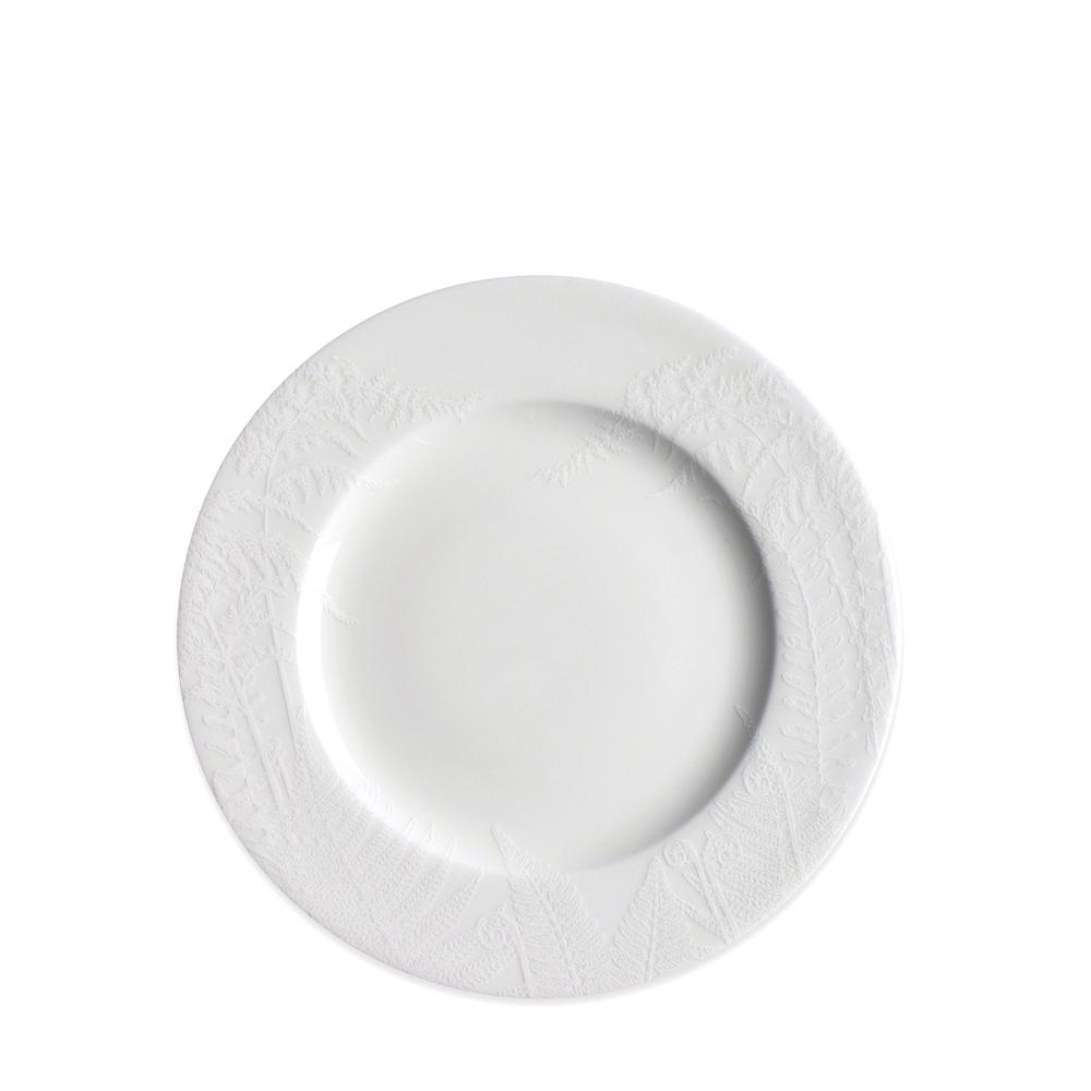 SPRING WHITE SALAD PLATE
