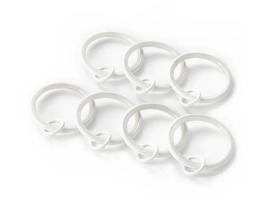 Curtain Loop Rings
