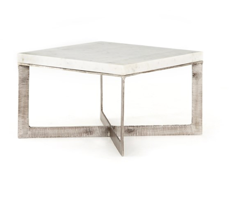 LENNIE BUNCHING TABLE-BRUSHED NICKEL