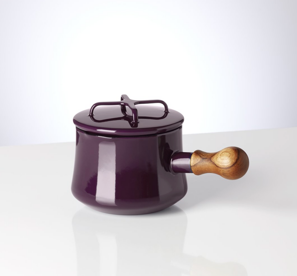 Kobenstyle Plum 1 Quart Saucepan with Lid