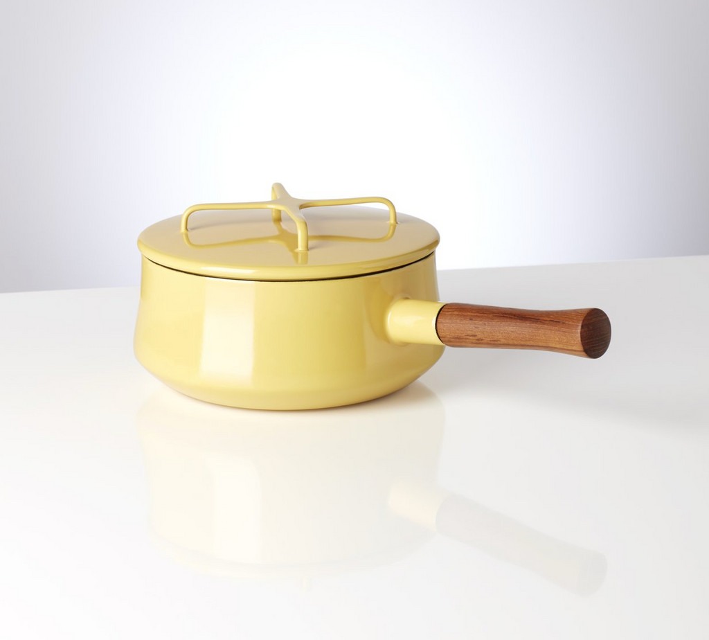 Kobenstyle Yellow 2 Quart Saucepan with Lid