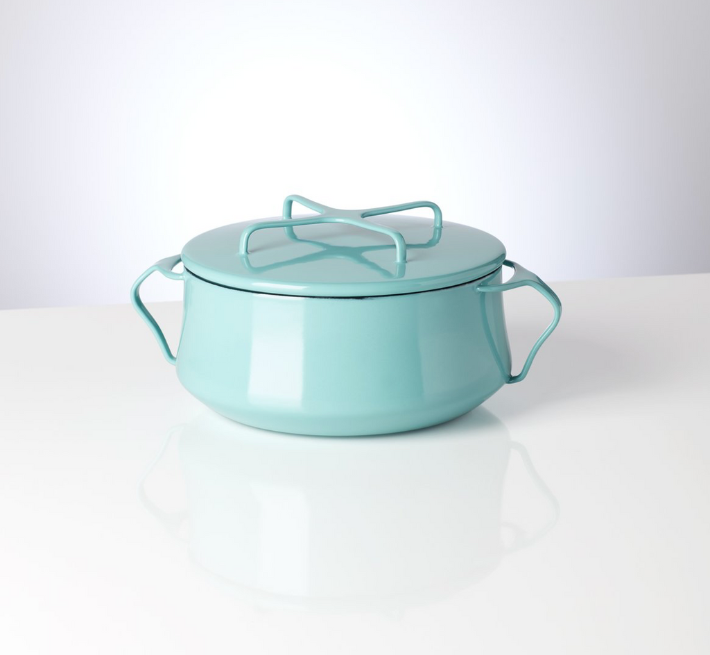 Kobenstyle Teal 2 Quart Casserole with Lid