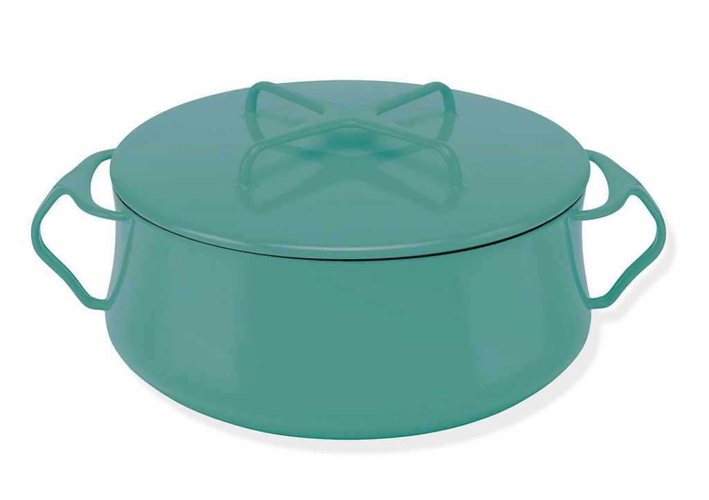 Kobenstyle Teal 4 Quart Casserole with Lid