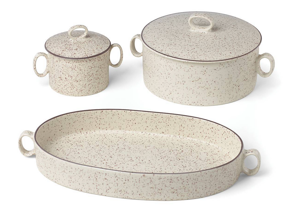 Generations II Sand Small Casserole with Lid