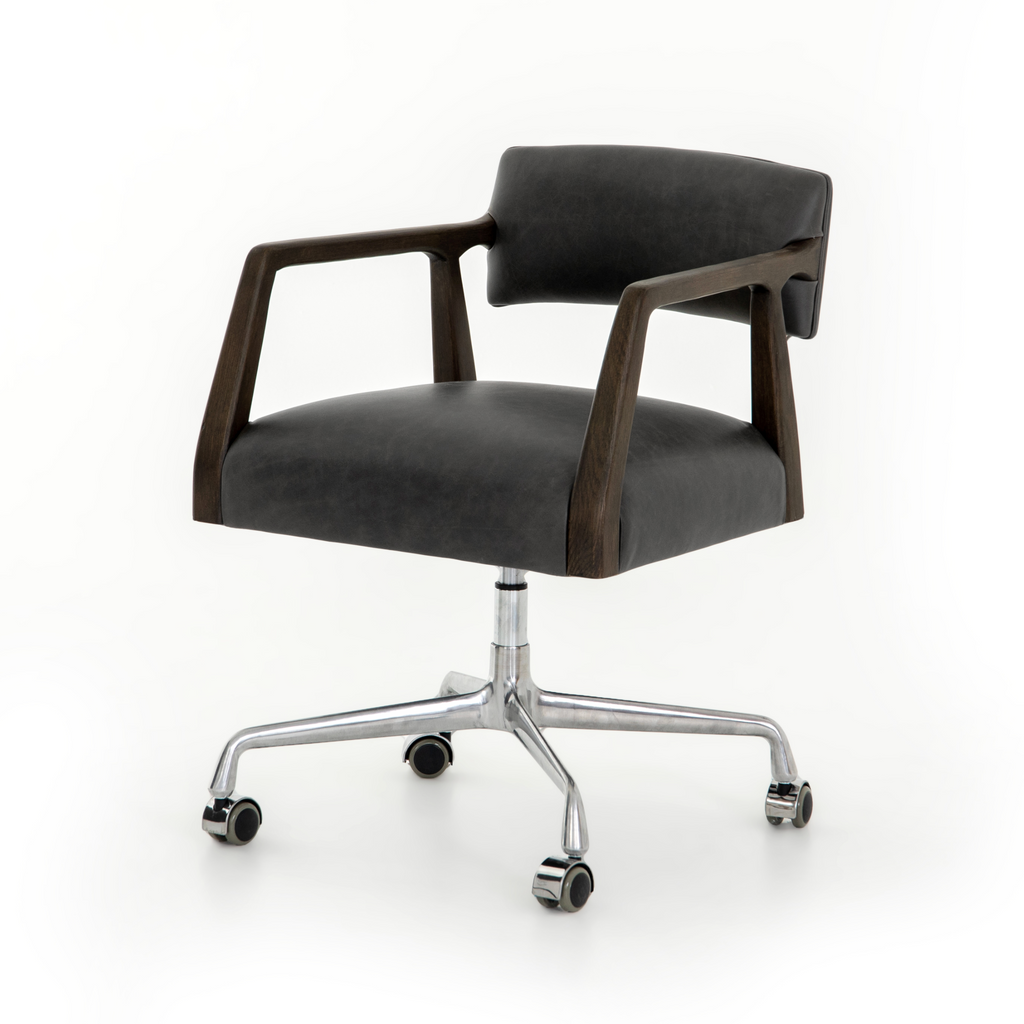 Tyler Desk Chair - Ebony