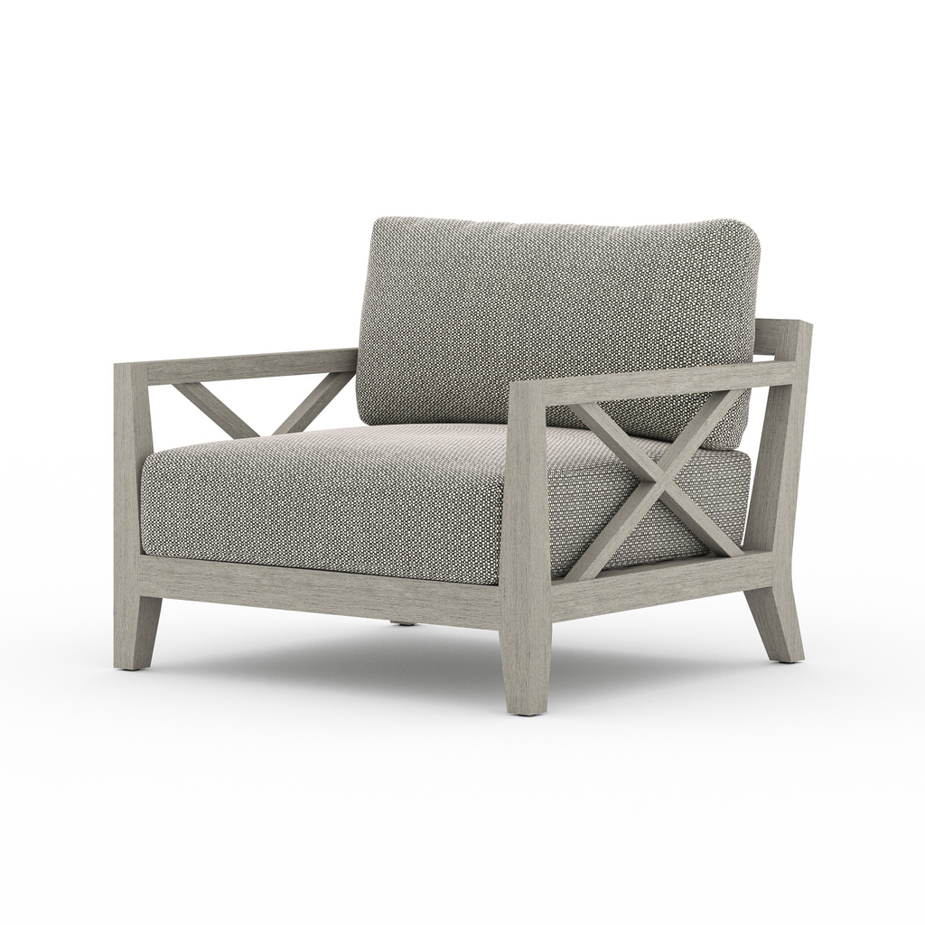 Huntington Outdoor Chair - Weathered Grey & Ash