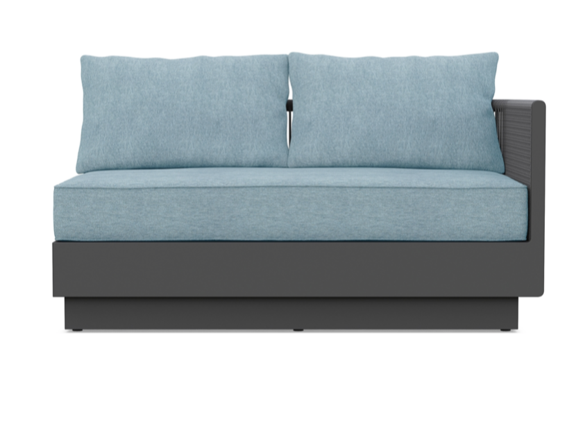 Porto Right Arm Sofa - Haze