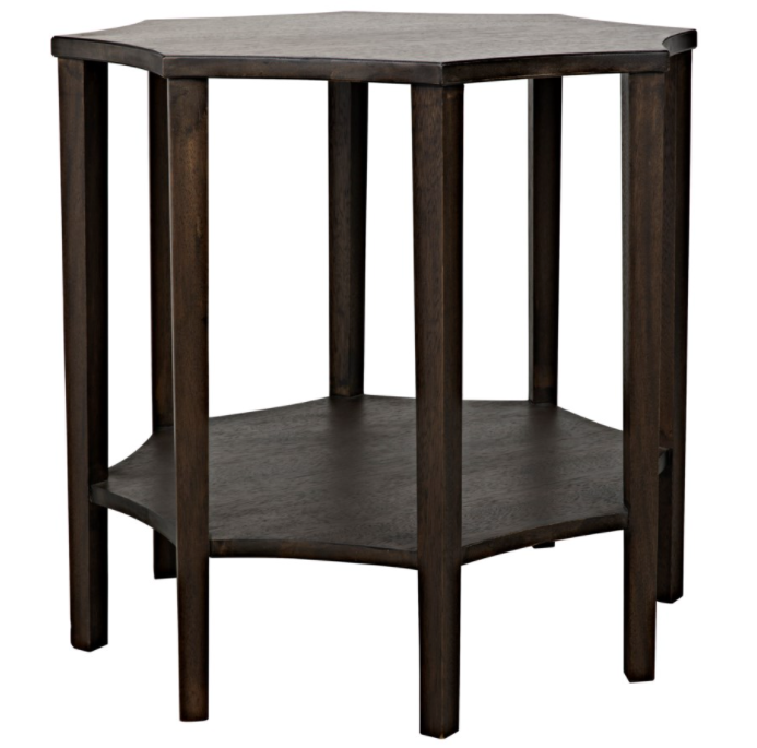 Ariana Side Table,Ebony Walnut