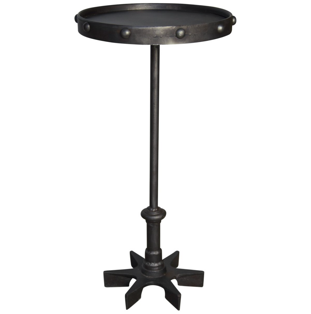 Biddy Side Table,Cast Iron