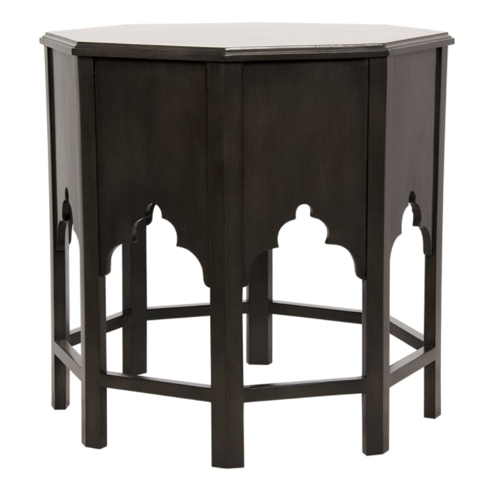 Damascus Side Table,Pale