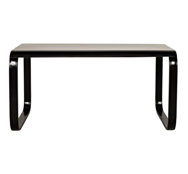 Harvey Desk,Black Metal