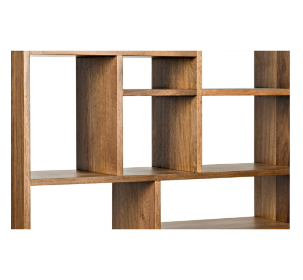 Malic Shelf,Dark Walnut