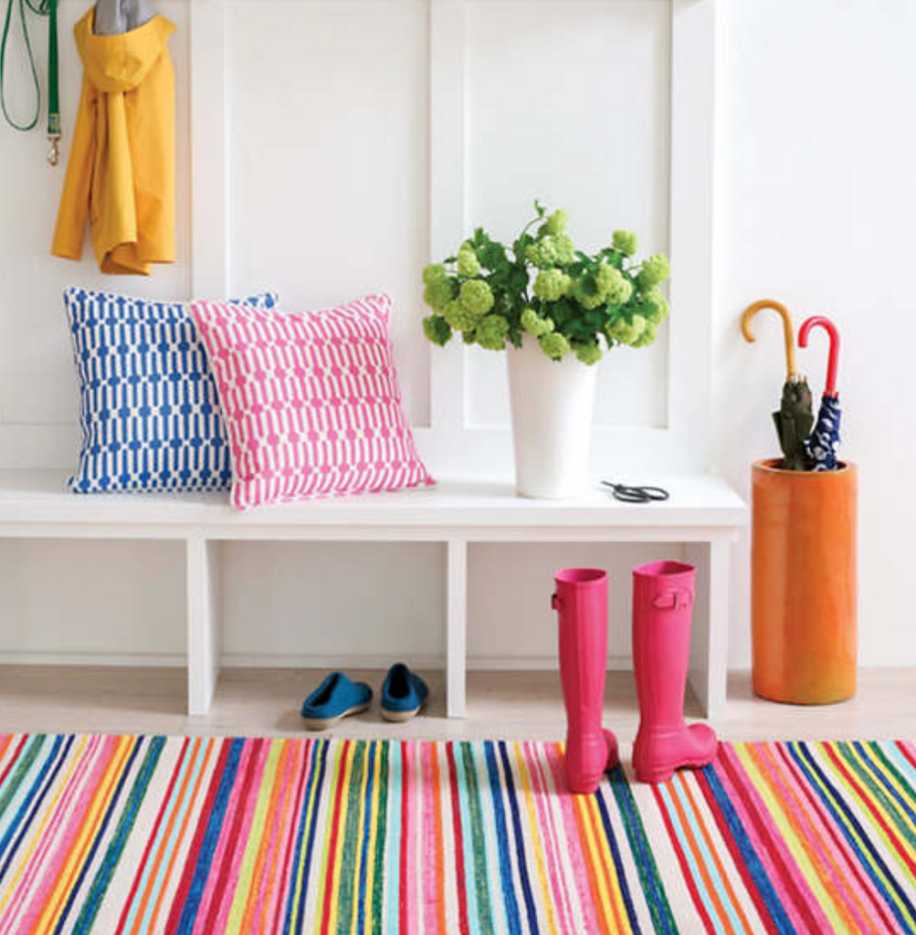 Bright Stripe Indoor/Outdoor