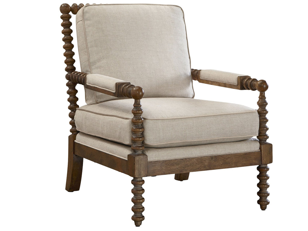 Soho Accent Chair - Belgian Linen