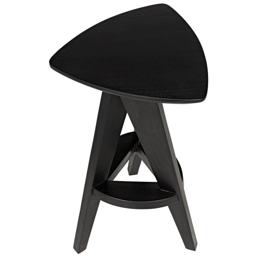 Twist Counter Stool,Charcoal Black