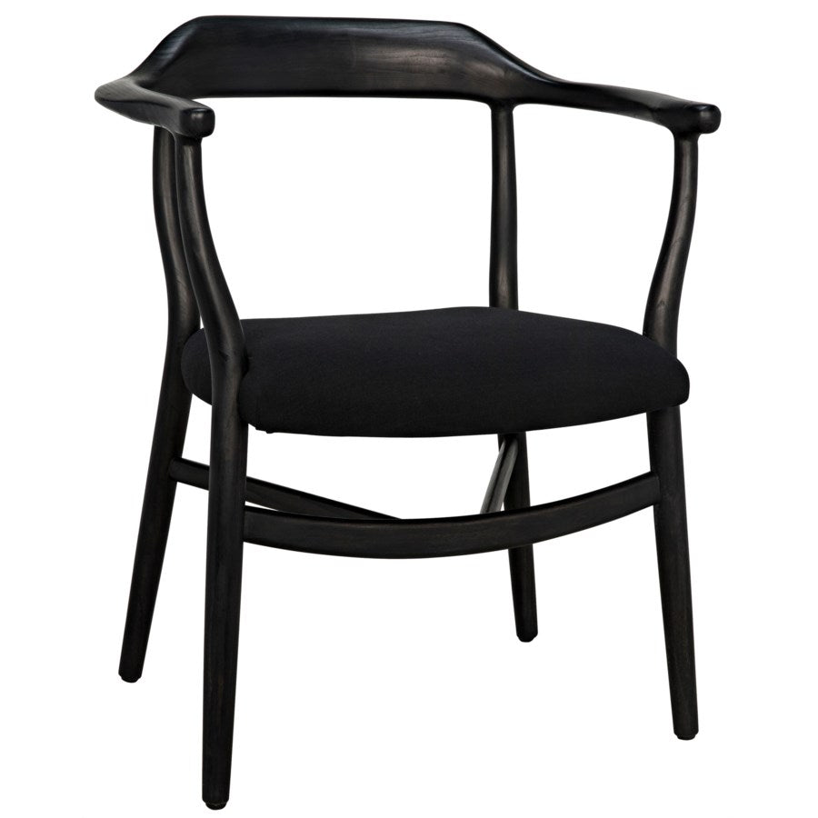 Rey Chair,Charcoal Black