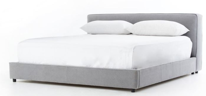 AIDAN BED PEBBLE PEWTER