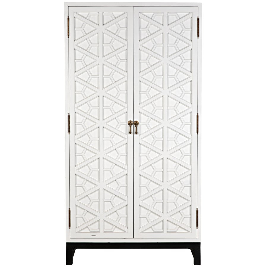 Small Maharadscha Hutch,Solid White