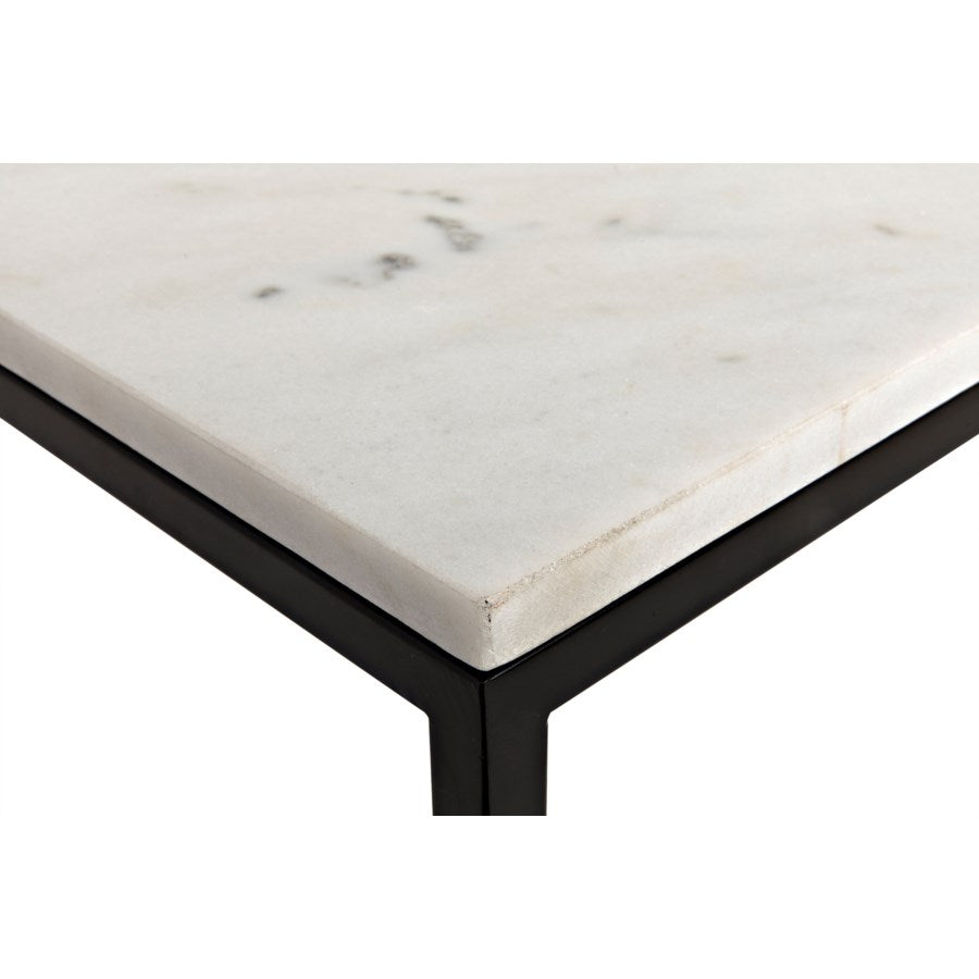 Molimo Coffee Table with Black Metal