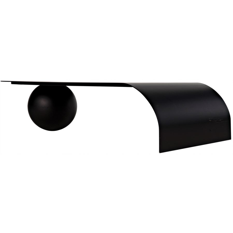 Rosario Coffee Table,Black Metal