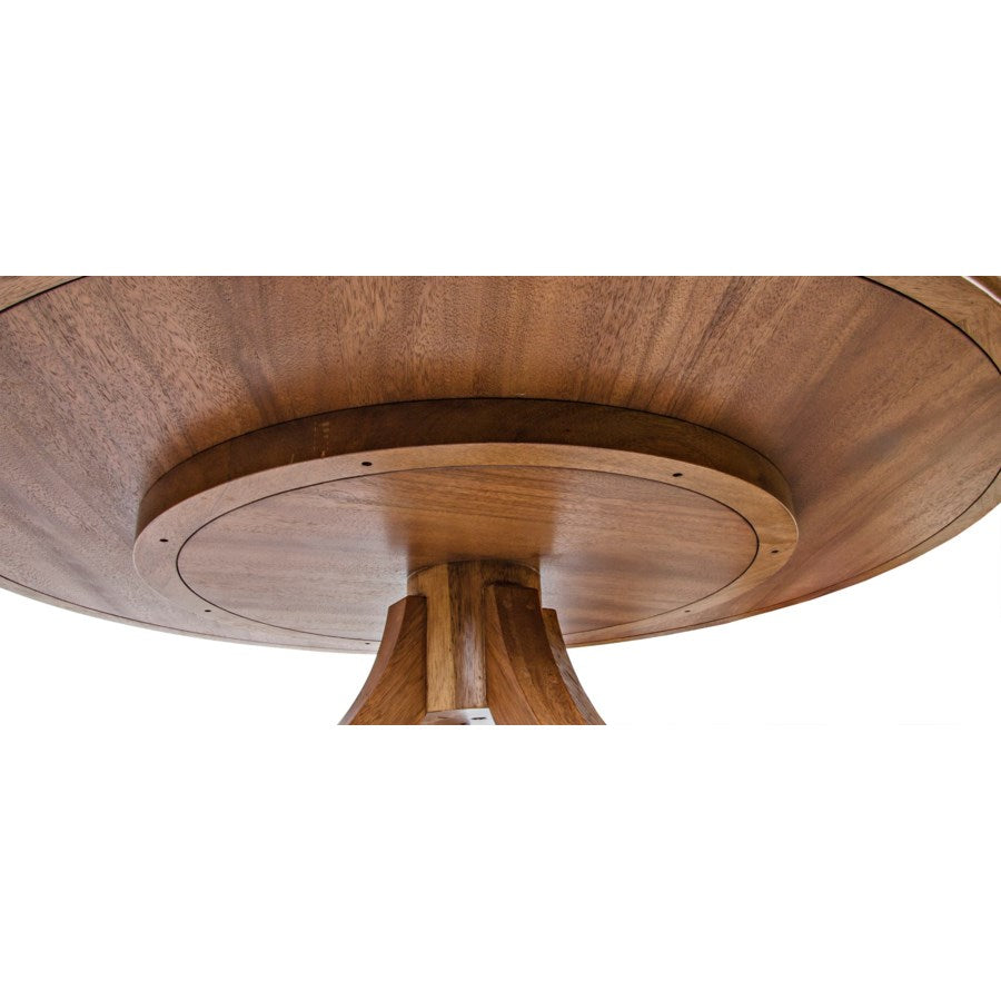 Vera Dining Table,Dark Walnut