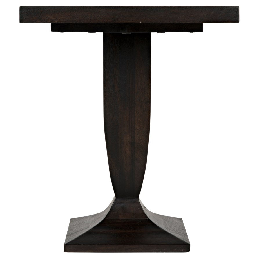 Paloma Side Table,Ebony Walnut