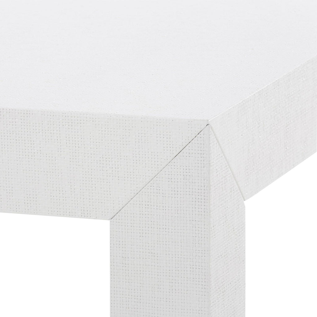Parsons Coffee Table, White