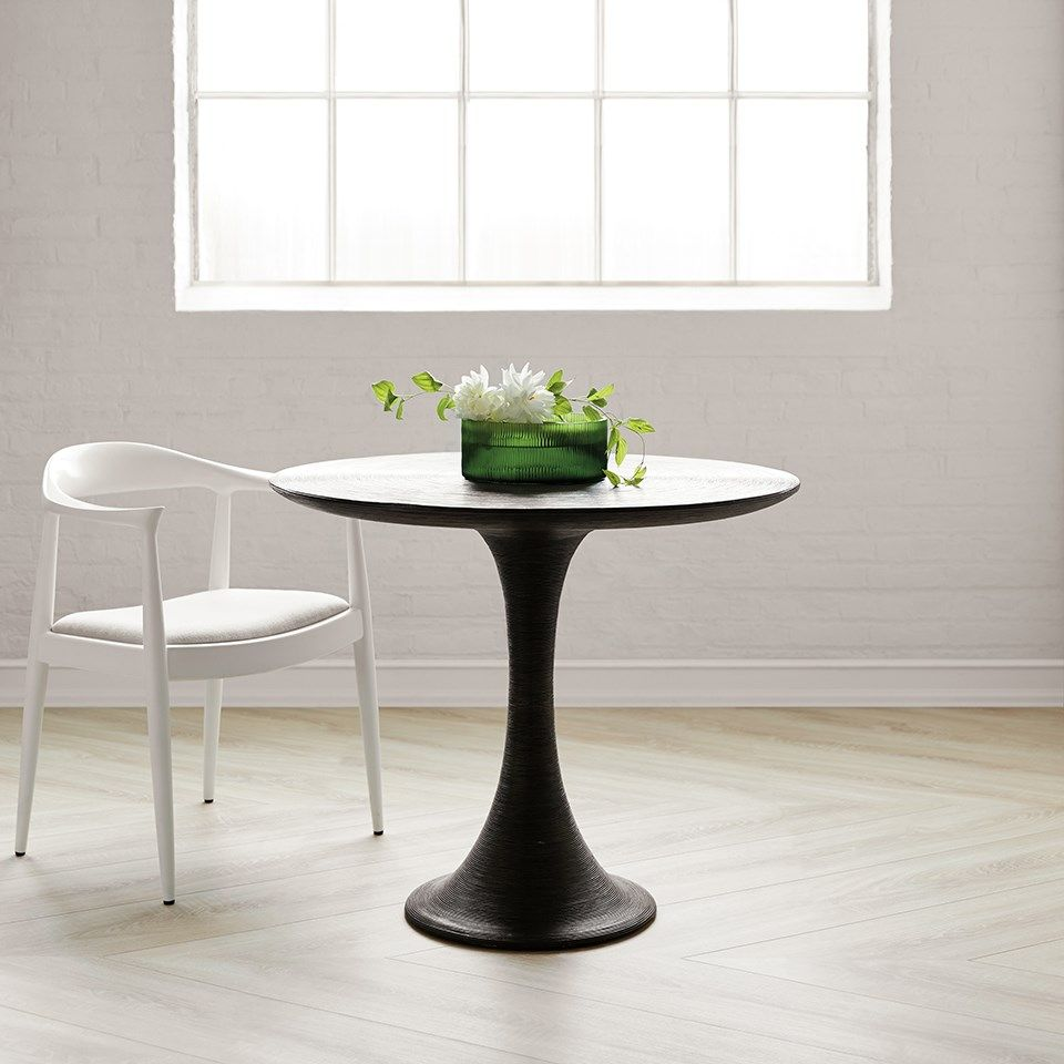 ROPE CENTER/DINING TABLE, GRAY