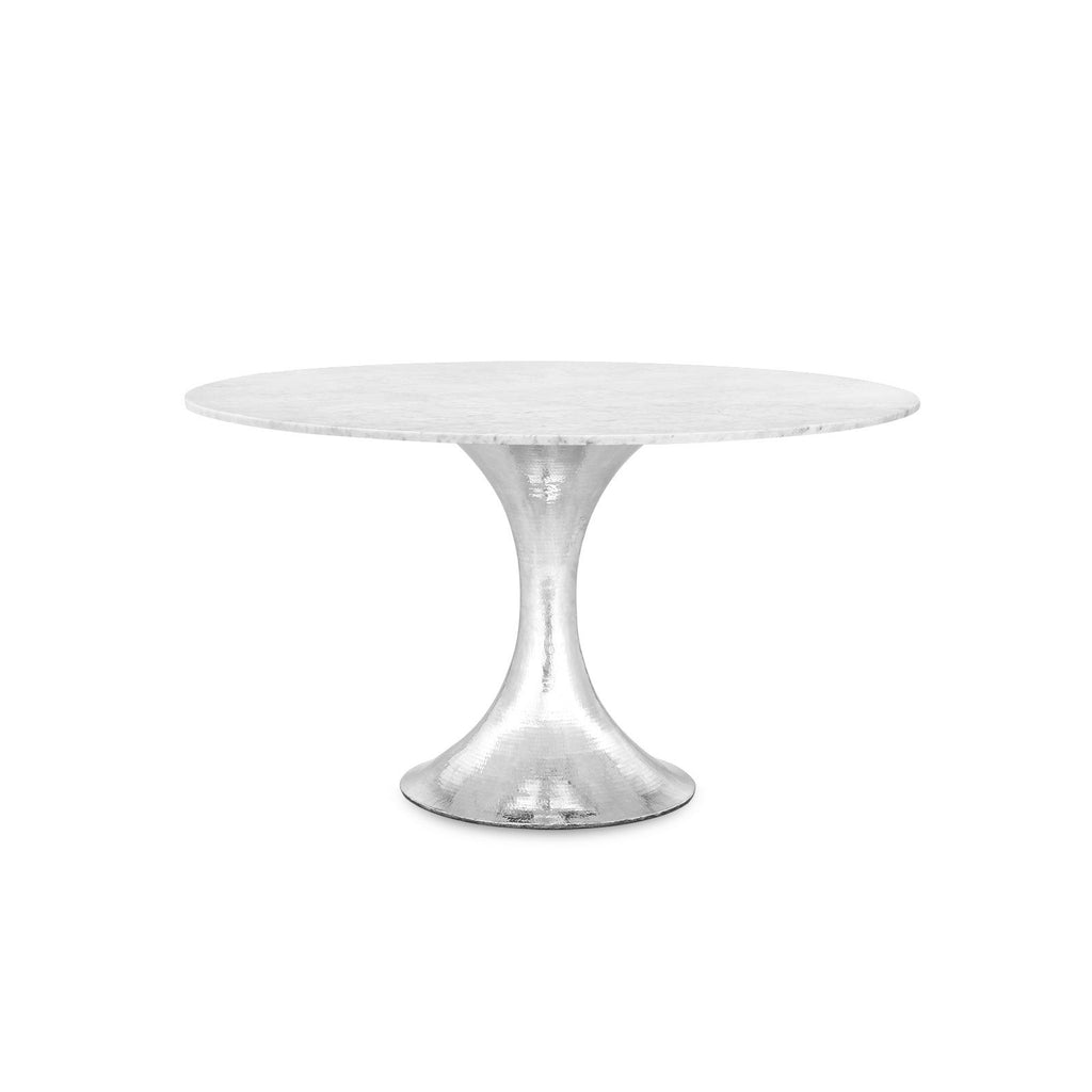 STOCKHOLM DINING TABLE BASE, NICKEL