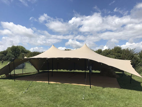 Moroccan stretch tent rental