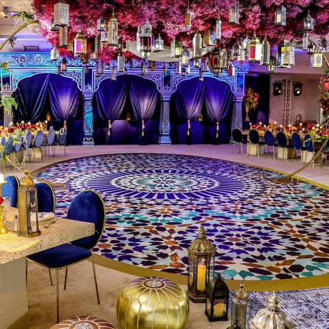 Moroccan wedding rentals