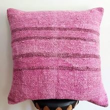 Load image into Gallery viewer, Berber Wool Pillow - Vintage Moroccan Floor Cushion VKFP039