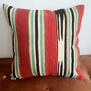 Berber Wool Pillow - Vintage Moroccan Floor Cushion VKFP059