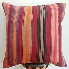 Load image into Gallery viewer, Berber Wool Pillow - Vintage Moroccan Floor Cushion VKFP063