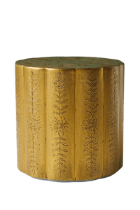 Embossed Side Table
