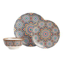 Load image into Gallery viewer, Fez Moroccan Tile Dinner Plates