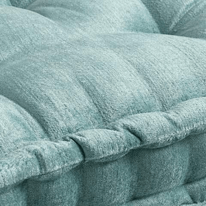 Jadeite Velvet Tufted Floor Cushion