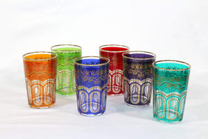 Moroccan Tea Glasses Set