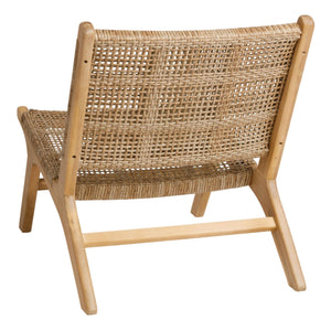 Natural Open Weave Girona Outdoor Accent Chair Set
