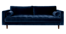 Load image into Gallery viewer, Sven Grass Blue Sofa Large