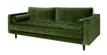 Load image into Gallery viewer, Sven Grass Green Sofa Large