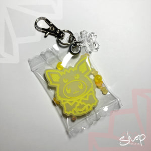 Eevee Candies Keychain : Jolteon