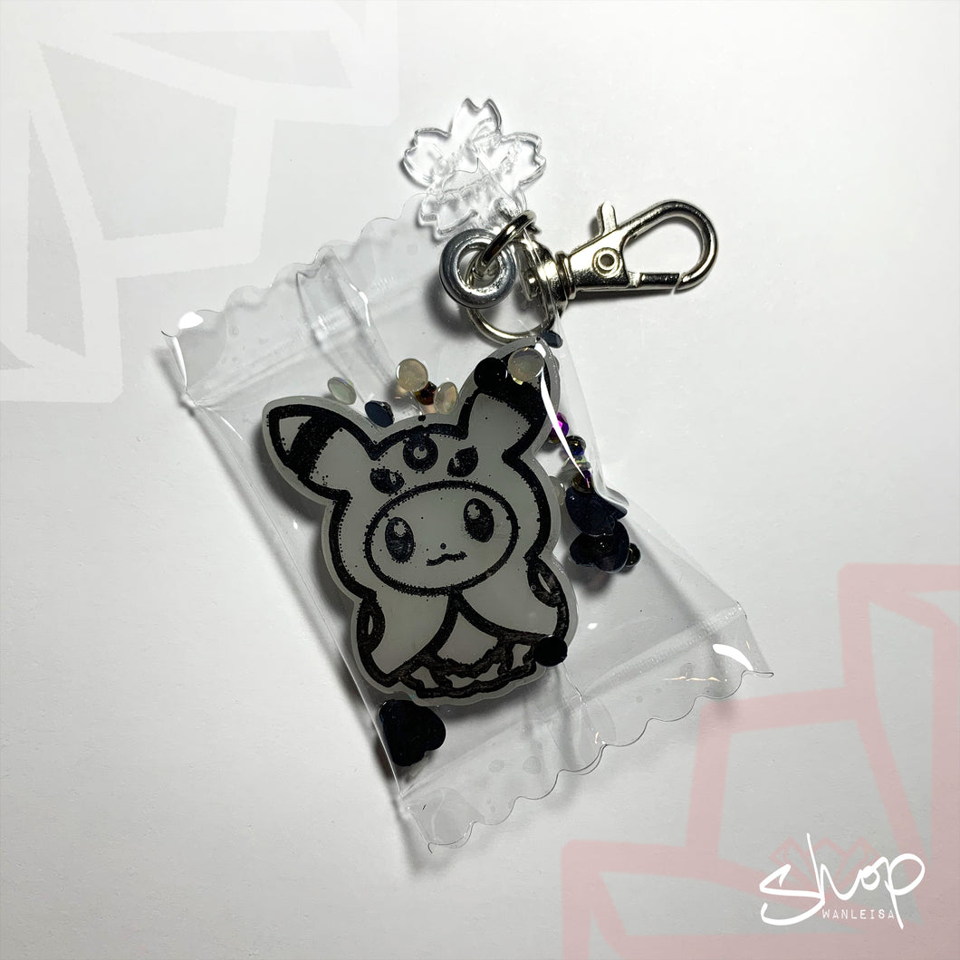 Eevee Candies Keychain : Umbreon